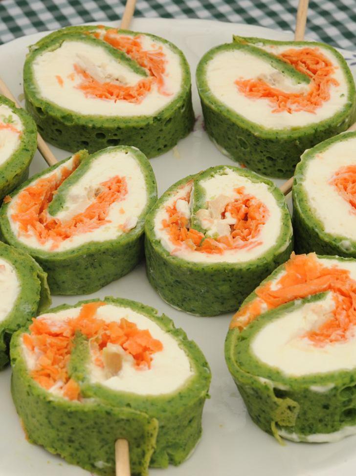 Chupetines de espinaca for Essen proveedores