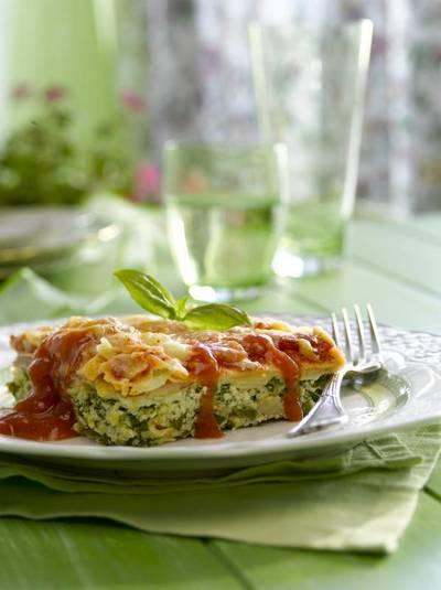 Lasagna de ricota espinaca y jam n for Essen proveedores
