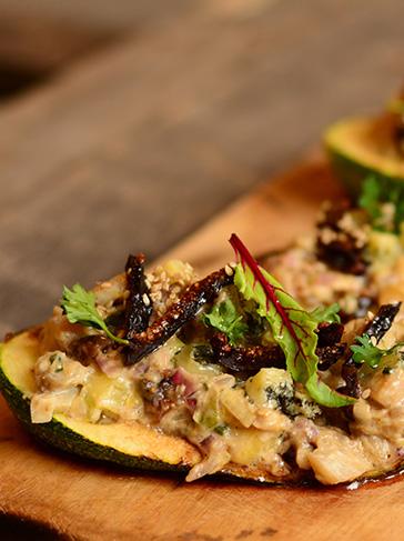 Zuchinis y berenjenas rellenas for Essen proveedores